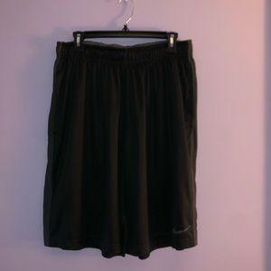 Black Dri-Fit Nike shorts. Size XL